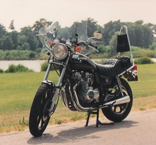 1981 Kawasaki LTD 550